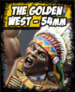 The Golden West 54mm - Andrea Miniatures