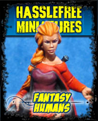 Fantasy Humans - Hasslefree Miniatures