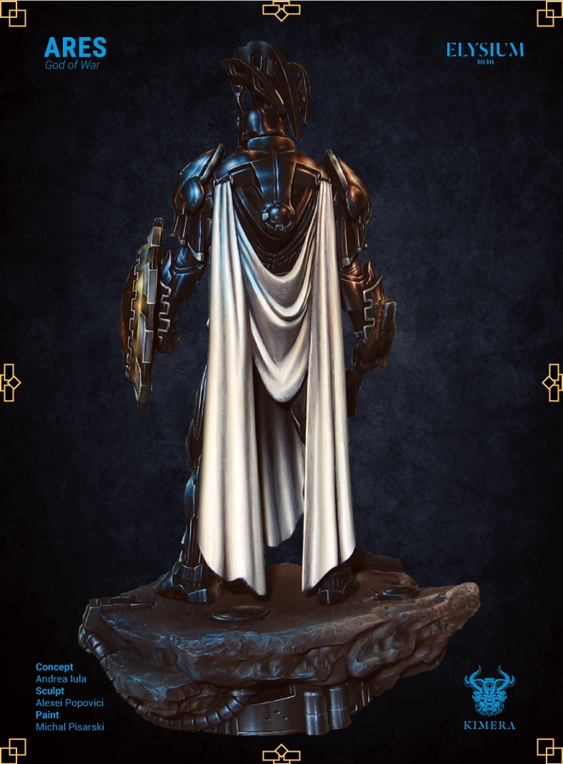 Ares God of War 75mm
