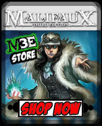 Malifaux Third Edition Store!