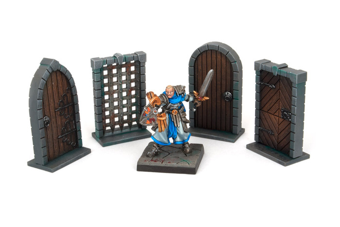 Dungeon Doors Pack - Dungeon Saga (x1 pack)  sc 1 st  Fantization Miniatures & Dungeon Doors Pack - Dungeon Saga