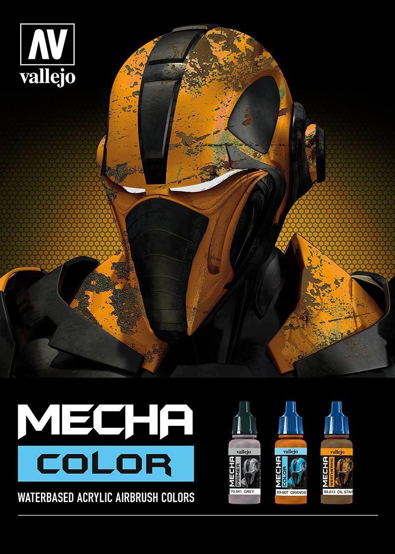 Complete set mecha color paints vallejo complete set mecha color paints no primers vallejo x71 paints geenschuldenfo Images