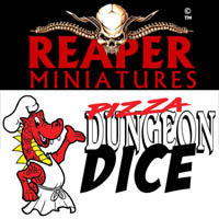 Pizza Dungeon Dice - Reaper Miniatures