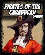 Pirates of the Caribbean 54mm - Andrea Miniatures