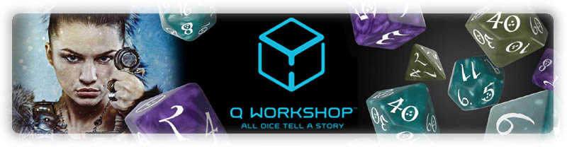Q Workshop Dice Store!