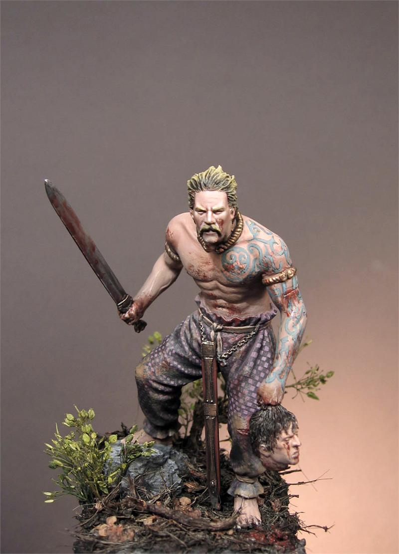 Celtic Warrior, III c  b C - 75mm - Art Girona (x1 fig)