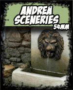 Sceneries - Andrea Miniatures