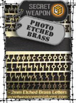 Photo Etched Brass - Secret Weapon