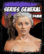 Series General 54mm - Andrea Miniatures