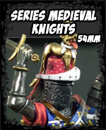 Series Medieval Knights 54mm - Andrea Miniatures