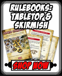 Books - Rulebooks Tabletop & Skirmish