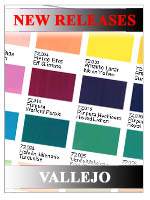 New Releases - Vallejo Paints