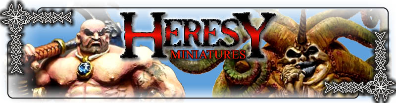 Heresy Miniatures Store!