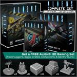 PRE-ORDER - Complete Set of Aliens: Core Board Game, Two Expansions, & FREE 3D Gaming Set (x4 boxes)