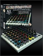 Scalecolor Collection Paint Box Set - Scale75 (x63 paints)