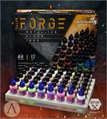 Color Forge - Metallics - Fluor - Inks Paint Box Set - Scale75 (x48 paints)