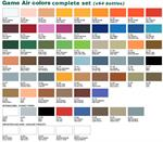 Complete Set Game Air Color w/ Surface Primers & Mediums - Vallejo (x64 paints)