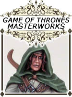Game of Thrones - George R.R. Martin Masterworks - Dark Sword RPG Miniatures