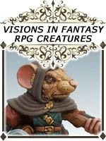 Visions in Fantasy - Dark Sword RPG Creature Characters