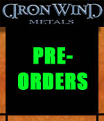 Pre-Orders - Iron Wind Metals